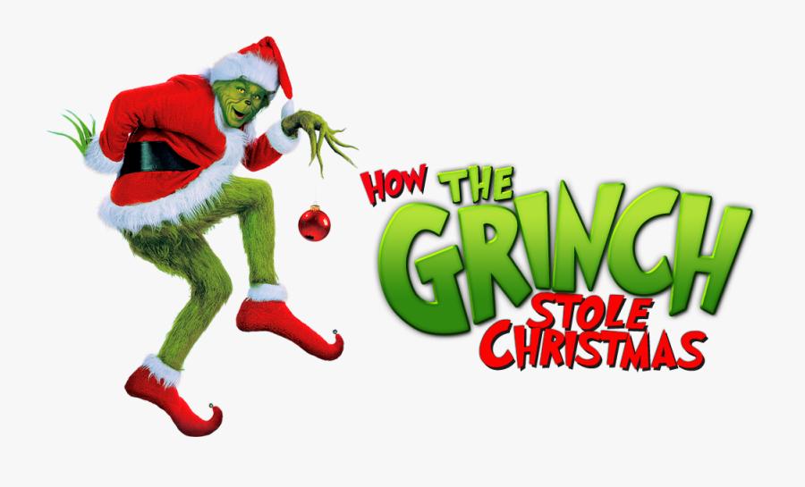 Grinch Stole Christmas Logo, Transparent Clipart