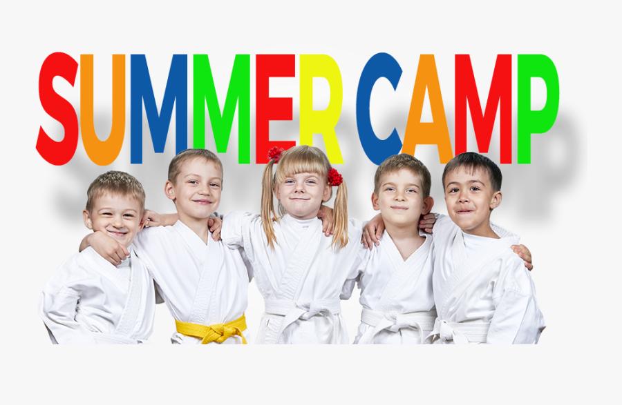 Summer Camp Kids - Karate Summer Camp, Transparent Clipart