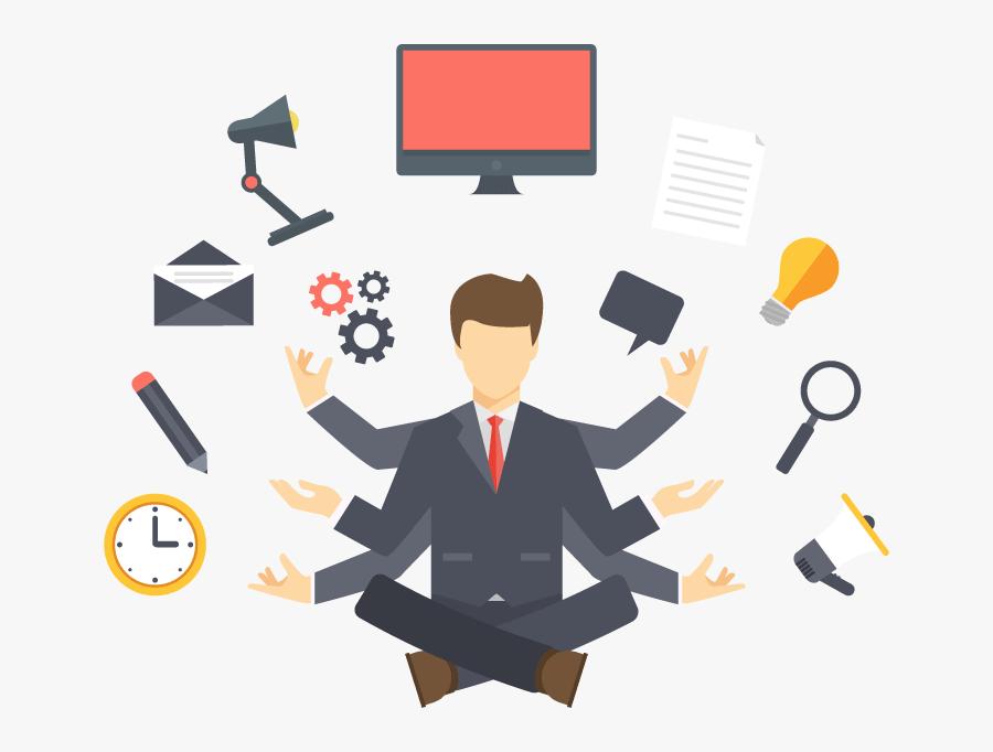 Secretary Clipart Organised - Digital Marketing Services India, Transparent Clipart