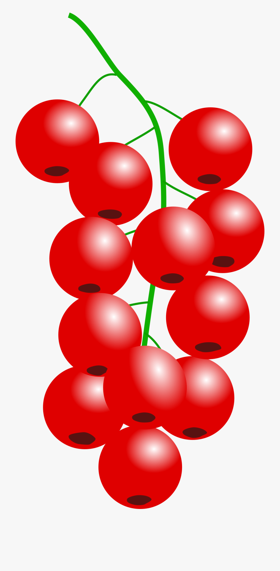 This Free Icons Png Design Of Redcurrant Png - Clipart Cranberry, Transparent Clipart
