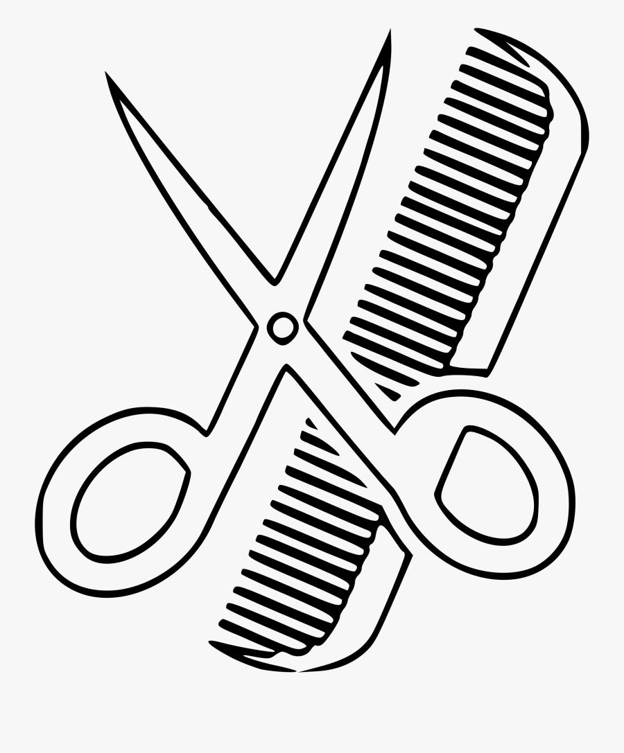 Clipart - Haircut Clipart, Transparent Clipart