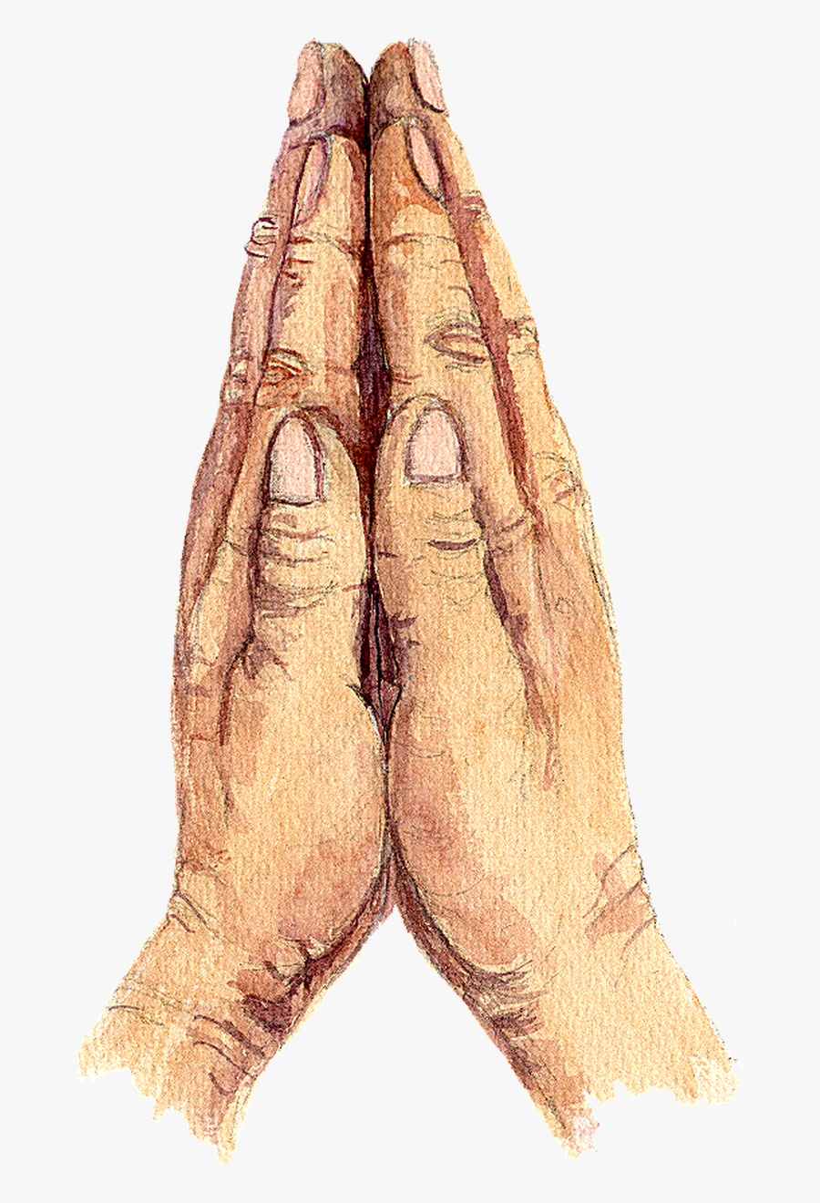Praying Clipart Transparent Background Png Freeuse - Background Transparent Background Prayer Hand, Transparent Clipart