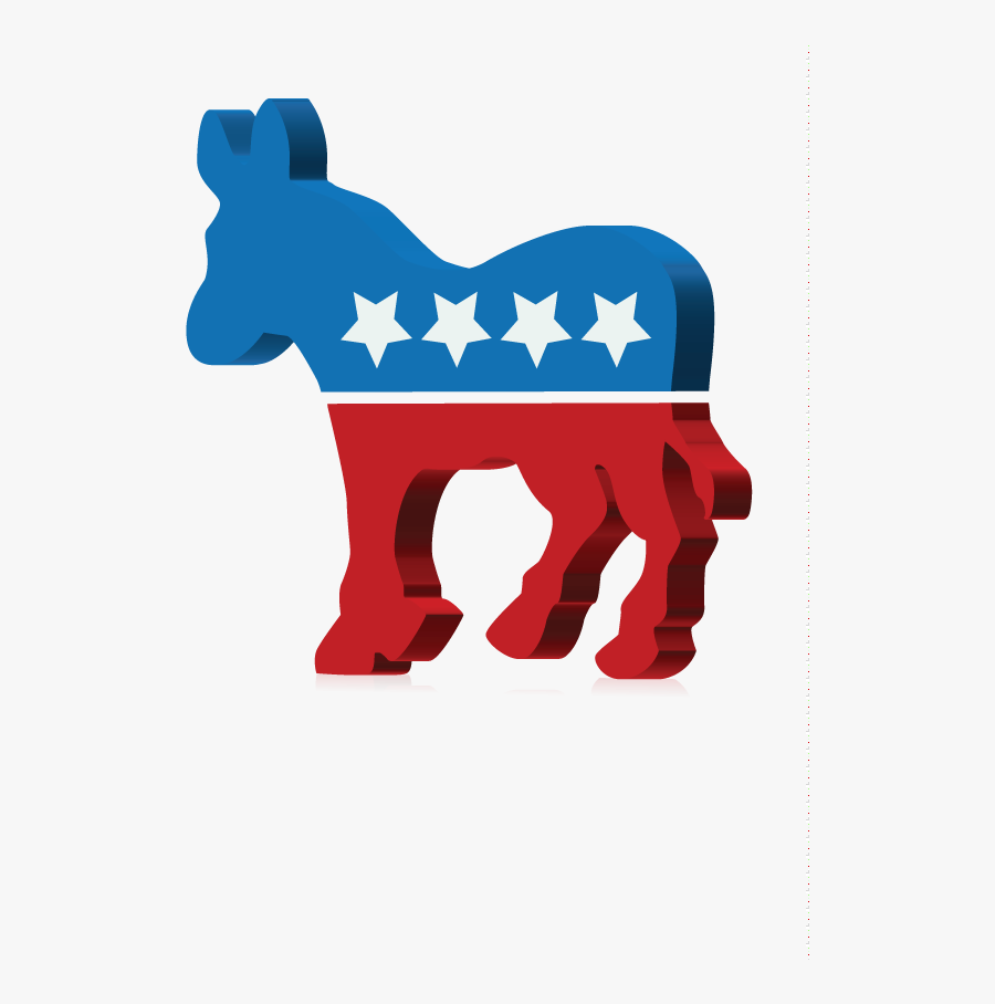 Transparent Democrat Clipart - Symbol For Each Political Party, Transparent Clipart