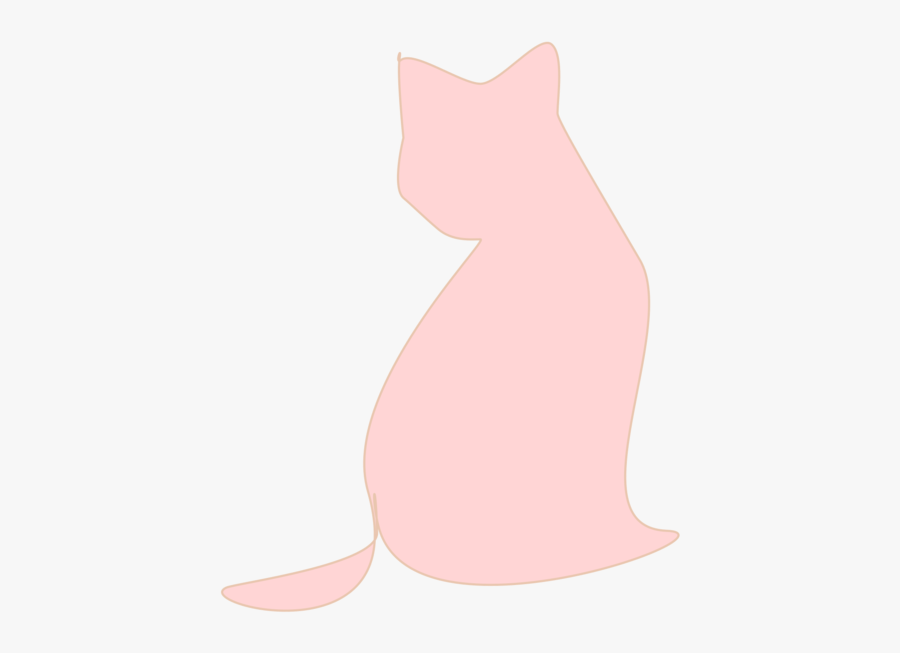 Pink,small To Medium Sized Cats,vertebrate - Cat Yawns, Transparent Clipart