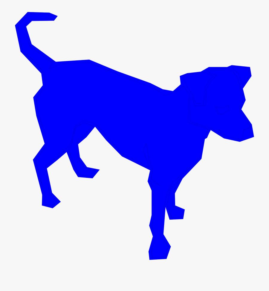 A Cute Bichon Frise Pet Dog Wagging Its Tail Cartoon - Blue Dog Clip Art, Transparent Clipart