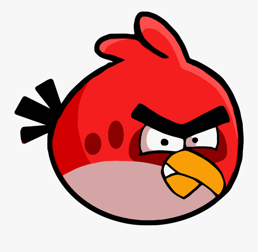 Transparent Anger Clipart - Angry Bird Clipart Png, Transparent Clipart