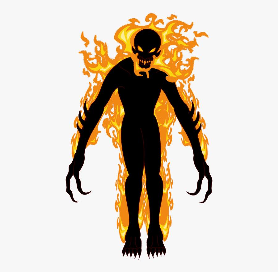 Scp 457 Burning Man, Transparent Clipart