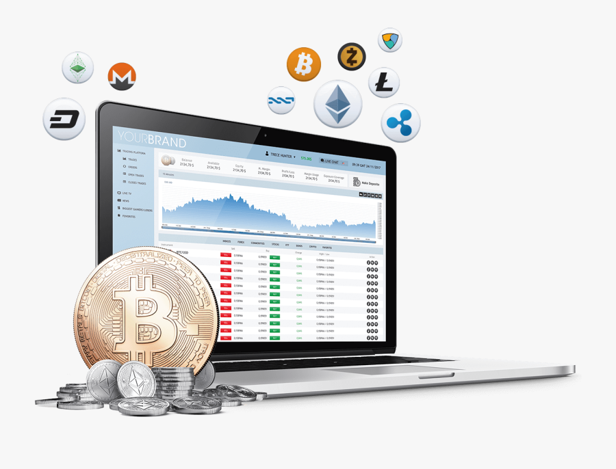 Exchange Foreign Cryptocurrency Platform Trading Trade - Crypto Trading Transparent Background, Transparent Clipart