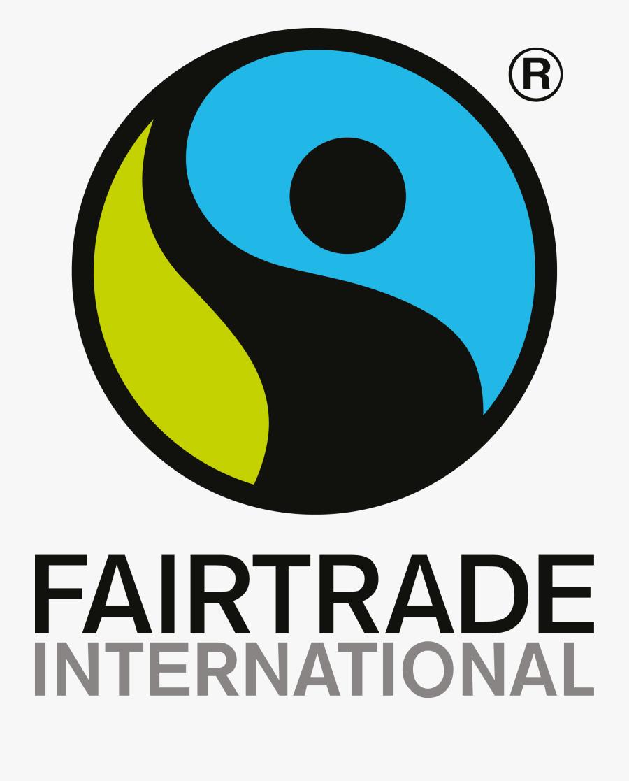 Fairtrade Logo [fairtrade International Flo Fairtrade - Fair Trade Logo Png, Transparent Clipart
