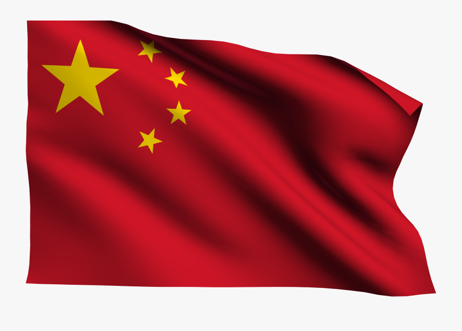 China Flag Gif Png, Transparent Clipart