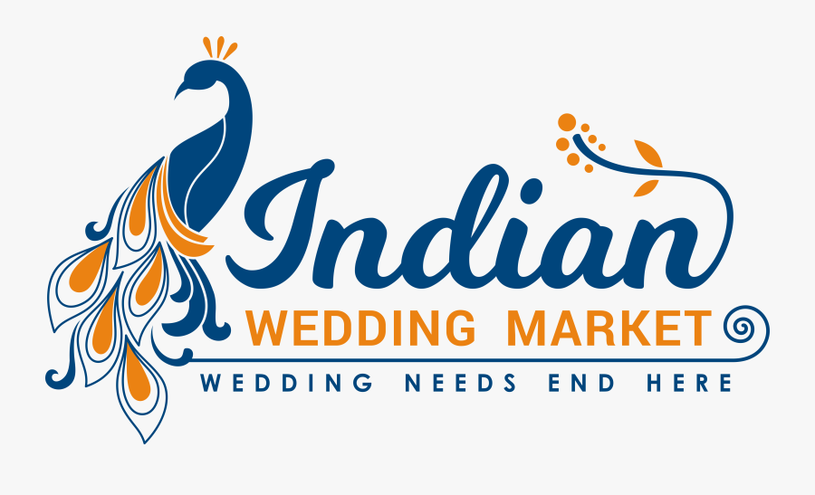 Transparent Indian Marriage Clipart - Hindu Wedding Invitation Logo, Transparent Clipart