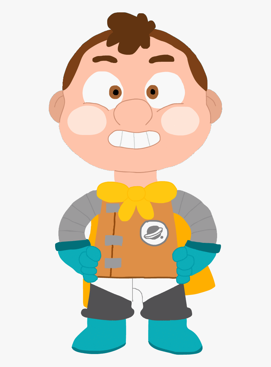 Mad Kid Png - Camp Camp Space Kid Without Helmet, Transparent Clipart