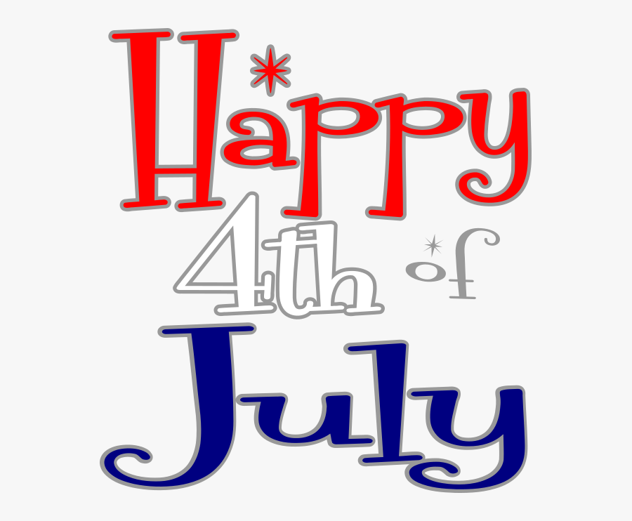 Happy 4th Of July Png, Transparent Clipart