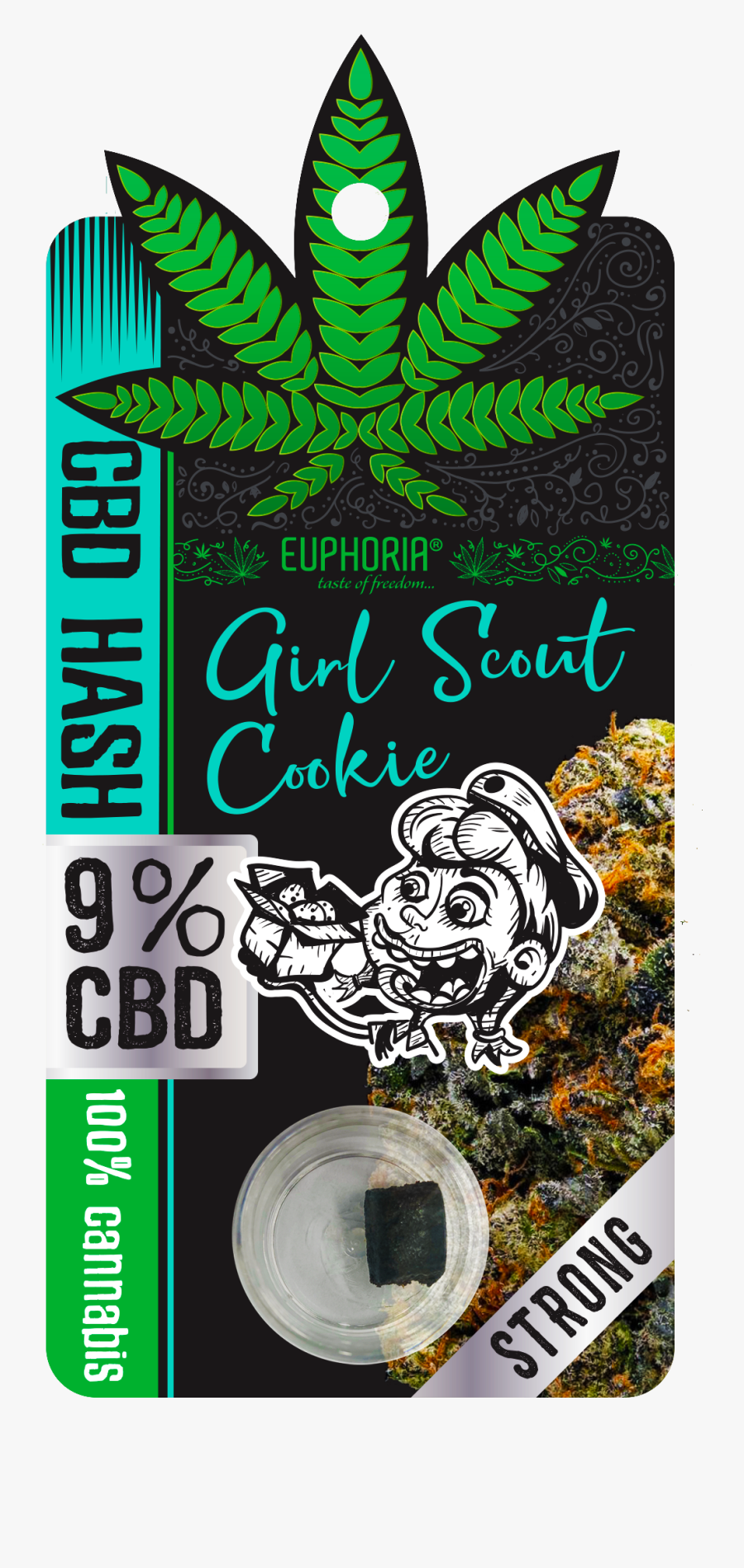Transparent Girl Scout Cookies Png - Gorilla Glue Hash Cbd, Transparent Clipart