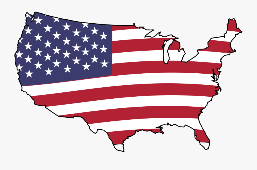 Clipart - American Flag Gif Png, Transparent Clipart