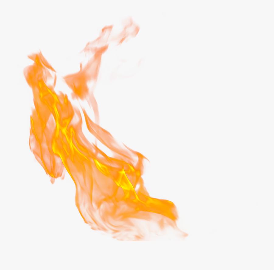 Transparent Realistic Fire Flames Clipart - Transparent Background Flame Fire Png, Transparent Clipart