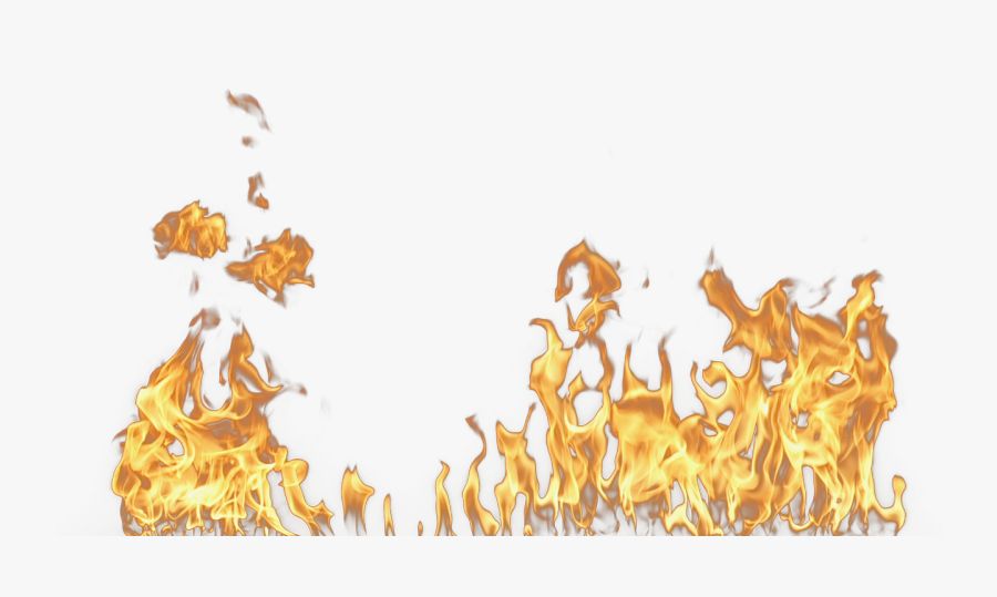 Realistic Flame Png - Fire Effect Transparent Background, Transparent Clipart