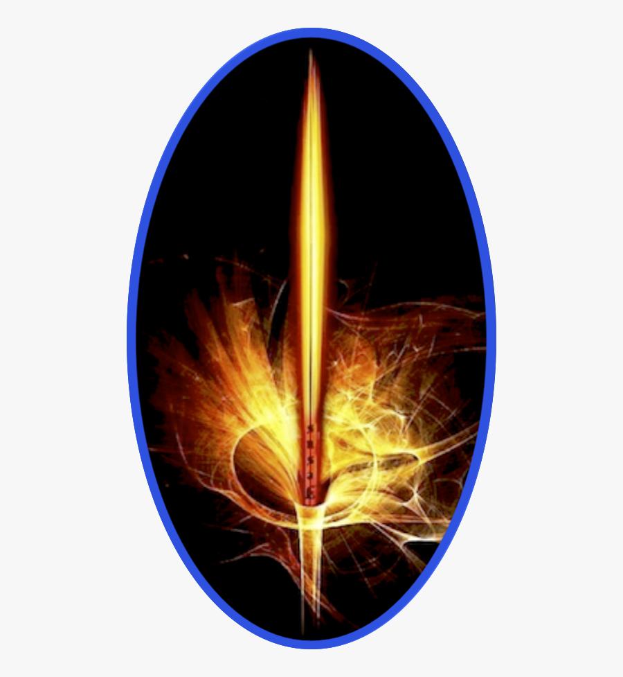 Transparent Realistic Fire Flames Clipart - Flame, Transparent Clipart