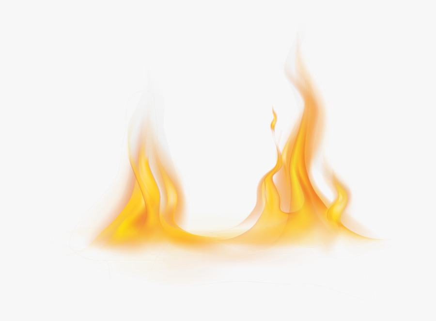Flame, Transparent Clipart