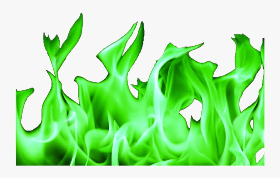 Green Fire Png - Transparent Background Fire Clipart, Transparent Clipart