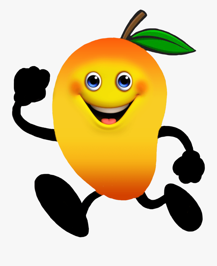 Mango Clipart Animated - Cartoon Mango Transparent ...