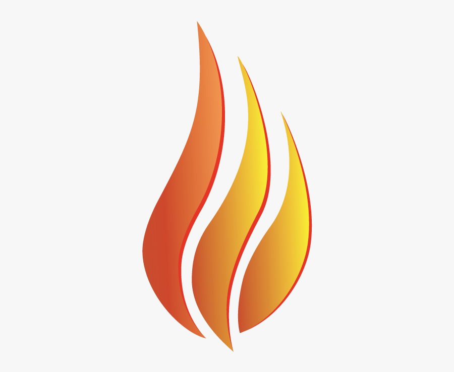 Clip Art Flame Pictures - Fire Three Flames, Transparent Clipart