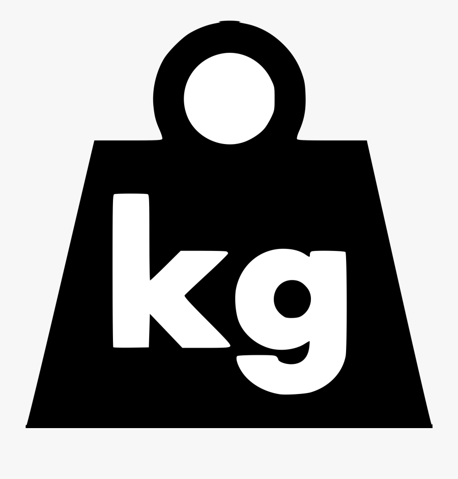 Weight How To Deal With The Metric System When Visiting - Pounds Weight Symbol, Transparent Clipart