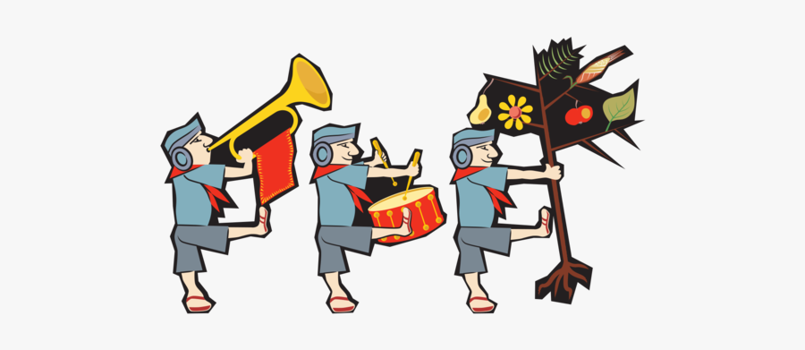 Pioneer Clipart Animated - Musical Ensemble, Transparent Clipart