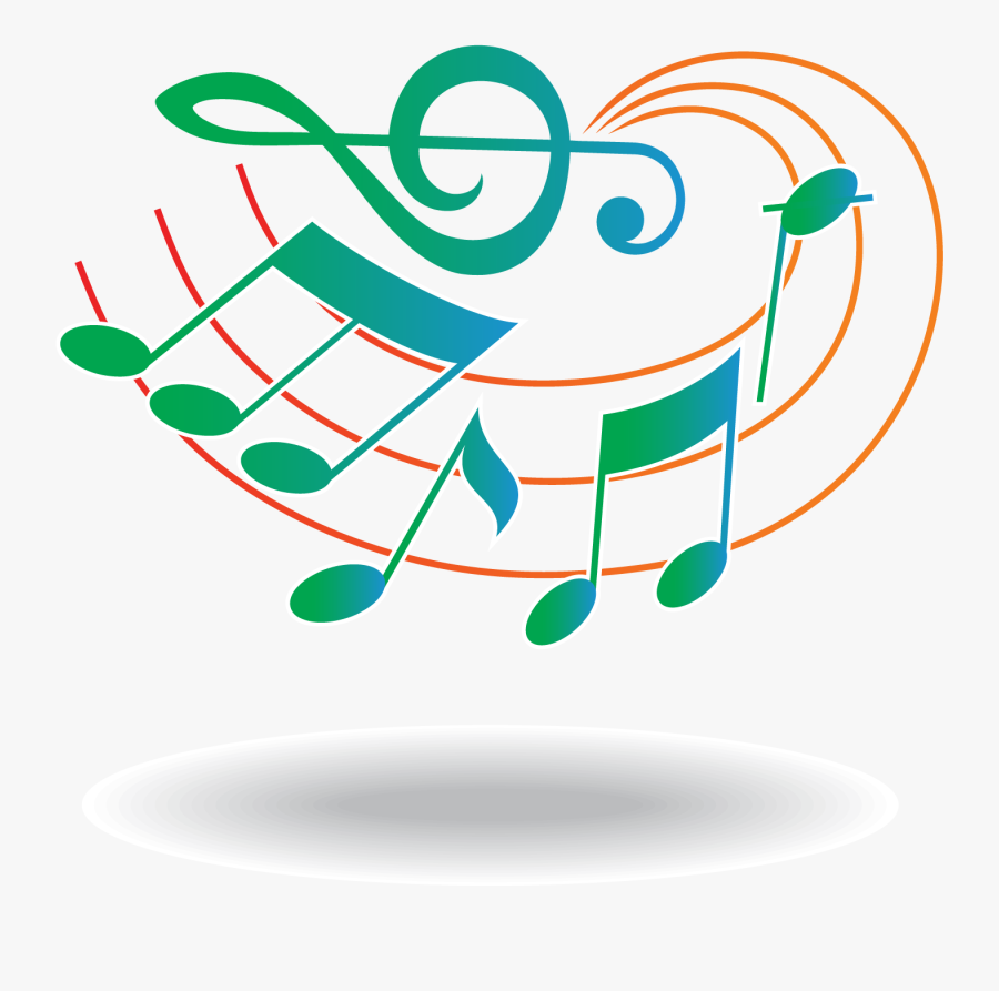 Musical Note Staff Clef - Music Notes Tattoo Small Design, Transparent Clipart