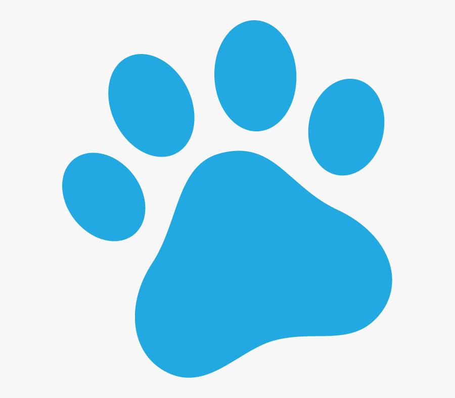 Utah Pet Accesstestimonials Install Pet Door - Dog Paw Png Blue, Transparent Clipart