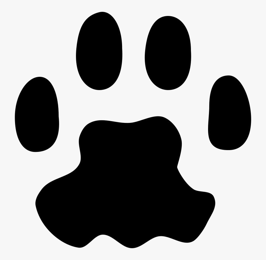 Dog Paw Print Tattoos Cheetah Print Love Tattoo Bag - Cat Paw Print Transparent Background, Transparent Clipart