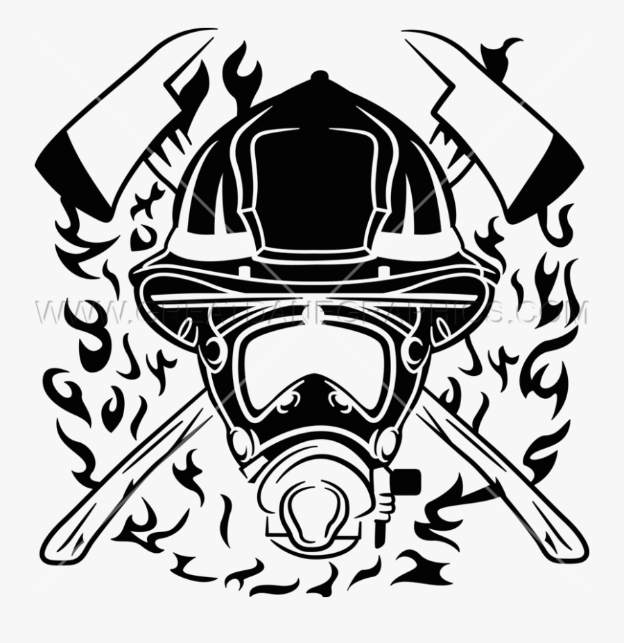 Helmet Clipart Fire Fighter, Transparent Clipart