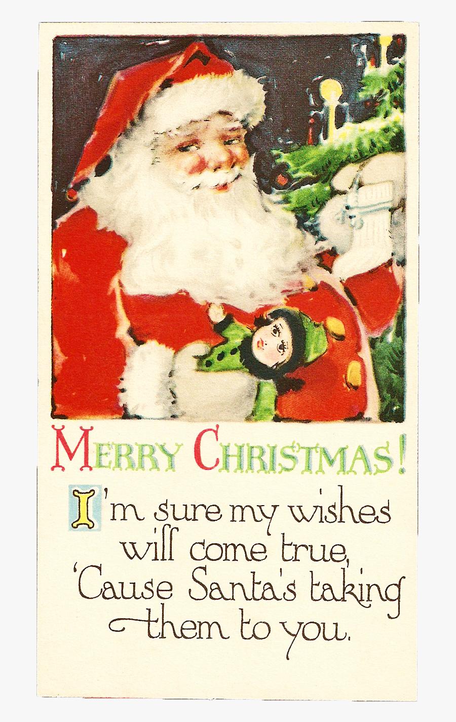 Free Christmas Clip Art - Santa Claus, Transparent Clipart