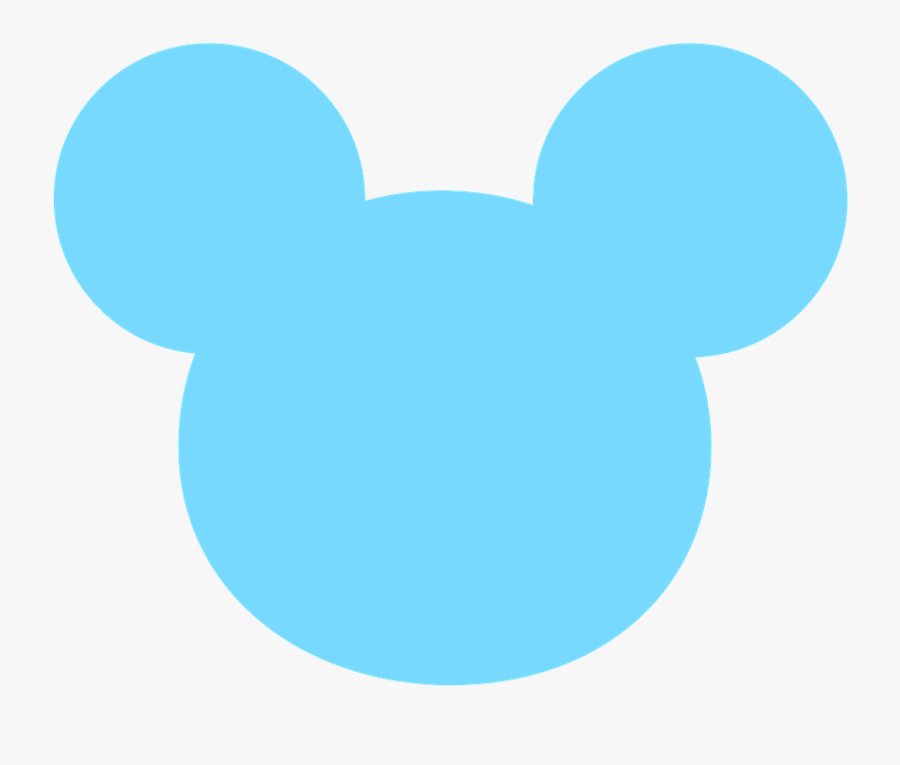 Mickey E Minnie - Baby Mickey Mouse Head, Transparent Clipart