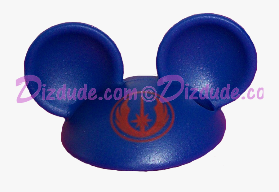 Download Blue Mickey Mouse Ears Hat Part Disney Star - Circle, Transparent Clipart