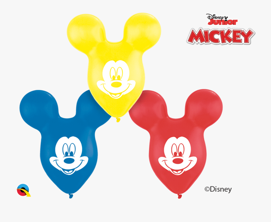15 - Mickey Mouse Balloons, Transparent Clipart