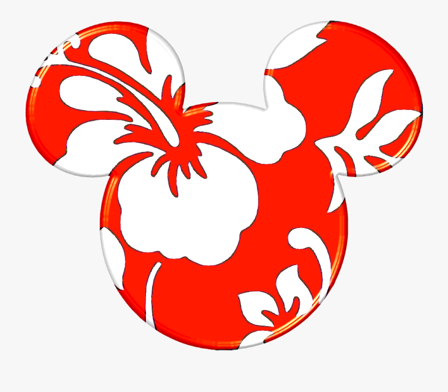 Transparent Mouse Ears Png - Mickey Mouse Ears Hawaiian, Transparent Clipart