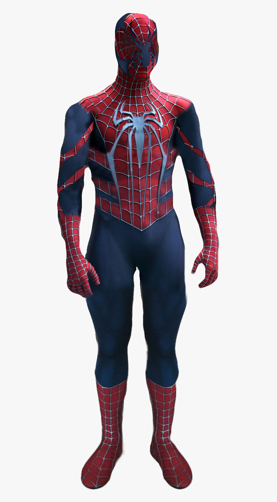 Spider Man Costume Fan Art - Drawing Of The Amazing Spider Man, Transparent Clipart