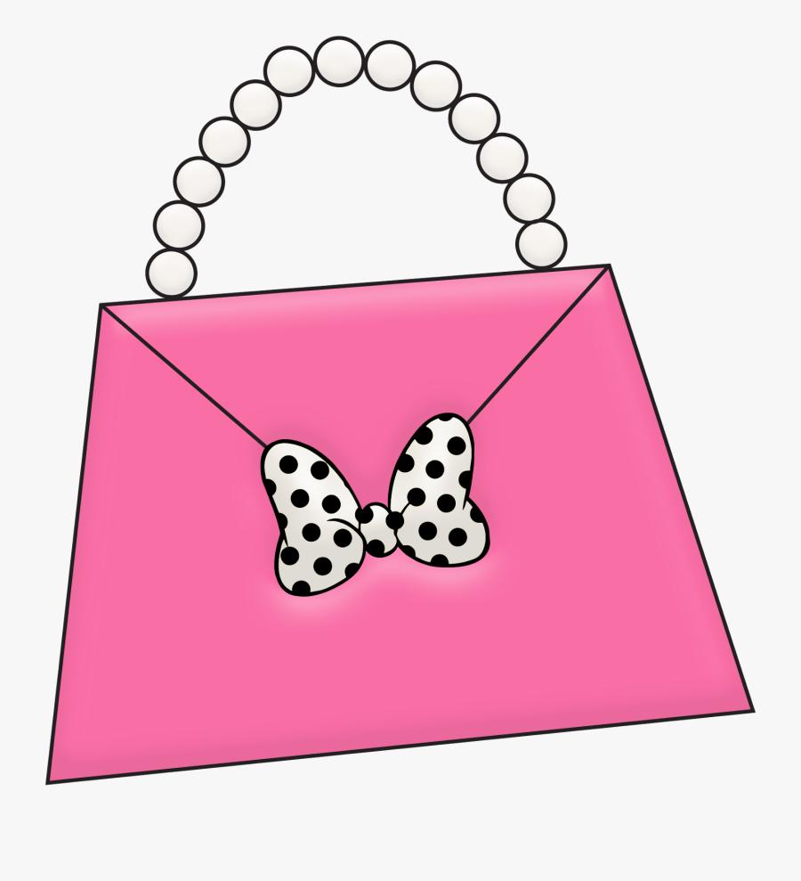 Minnie Mouse Purse Clipart, Transparent Clipart