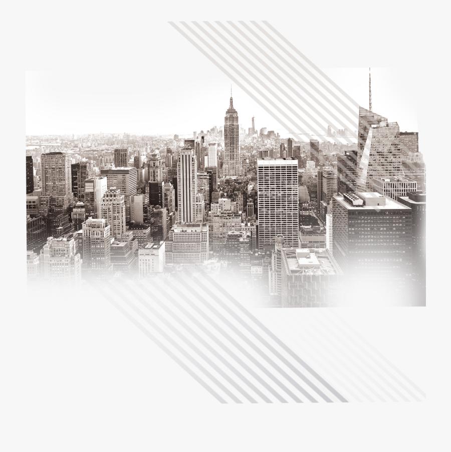 Building City Wallpaper State Skyline Empire Manhattan - New York City, Transparent Clipart