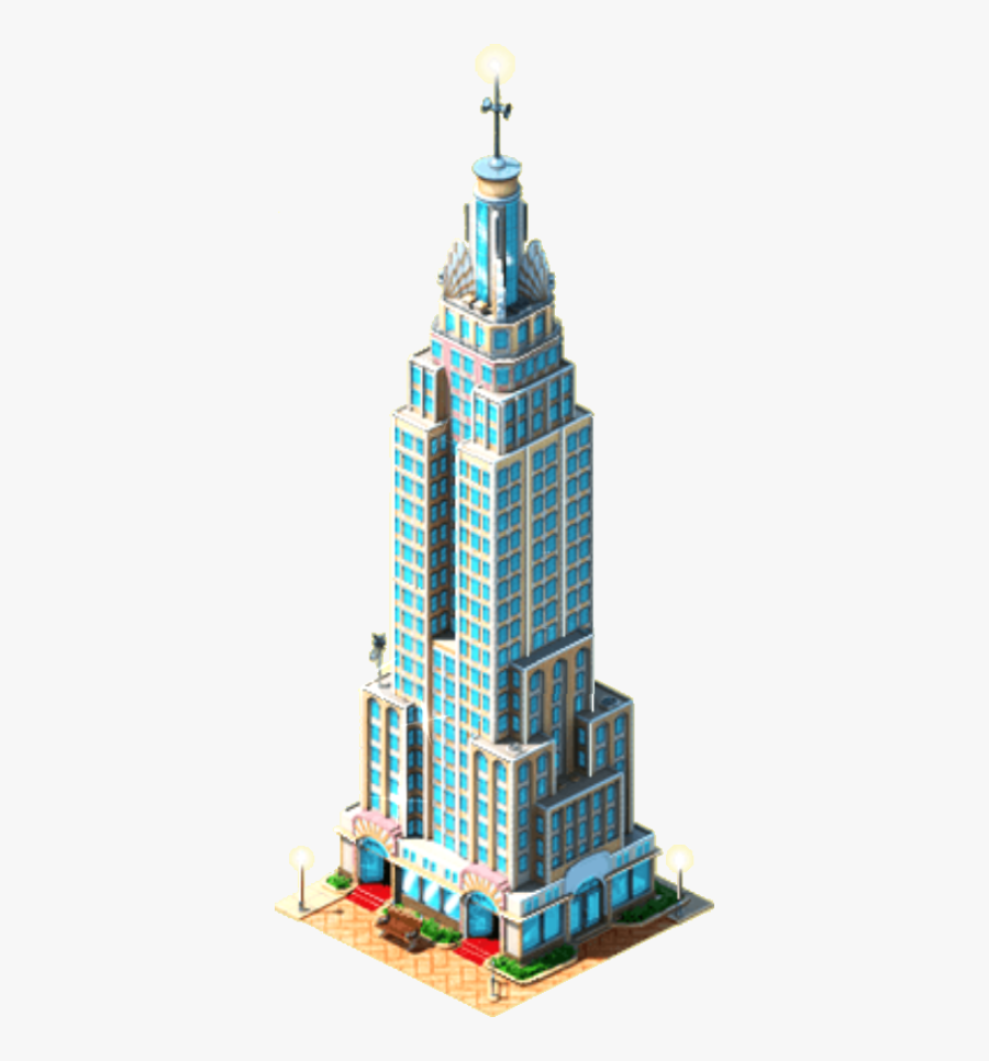 Empire State Building Png, Transparent Clipart