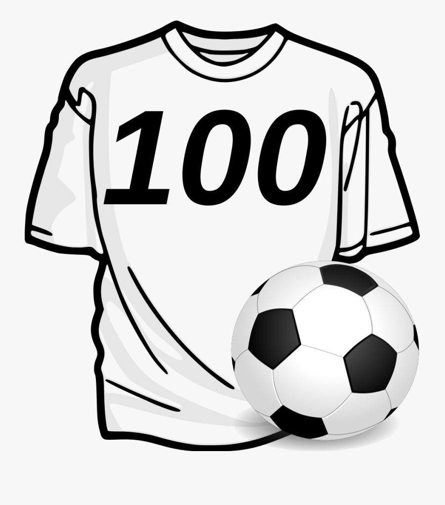 Jersey Clipart Football Fan - One T Shirt Clipart, Transparent Clipart