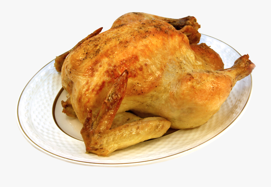 Roast Chicken 3d Model Free, Transparent Clipart