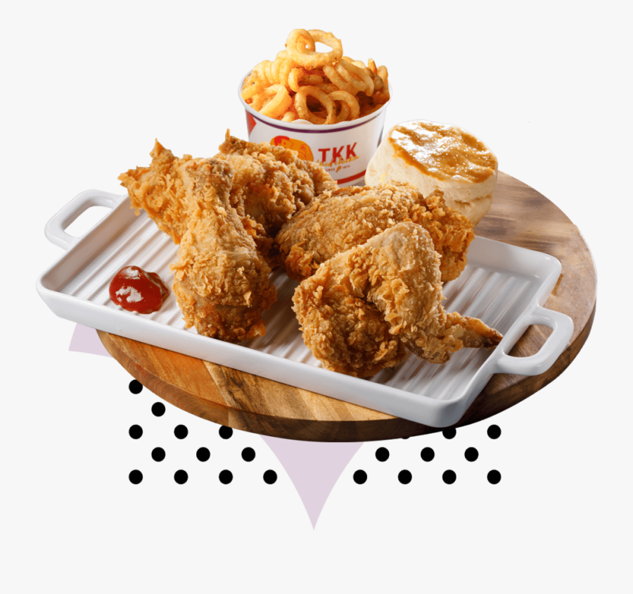Transparent Chicken Strips Clipart - Crispy Fried Chicken, Transparent Clipart