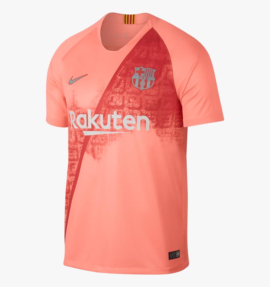 Clip Art Fc Barcelona Neymar Jersey - Barcelona Away Kit 2018 19, Transparent Clipart