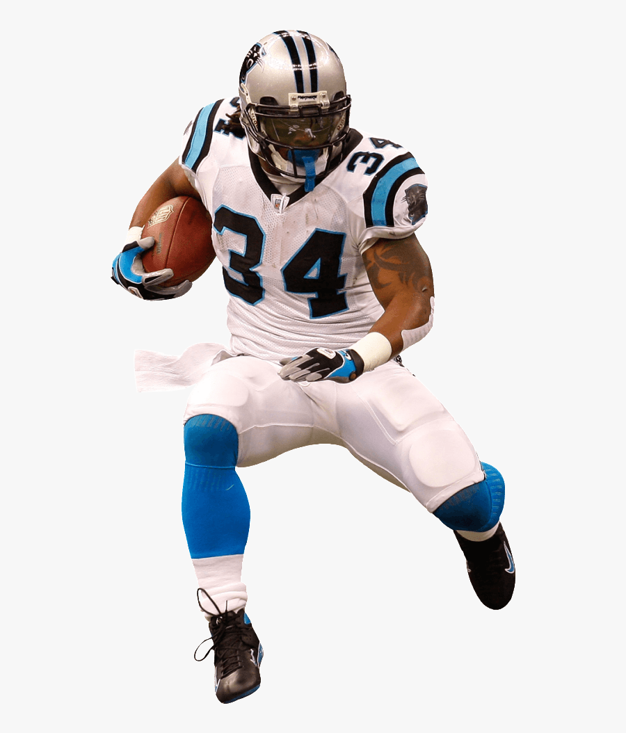 Nfl Football Player Photo Clipart Panda - Drawing American Football Player, Transparent Clipart