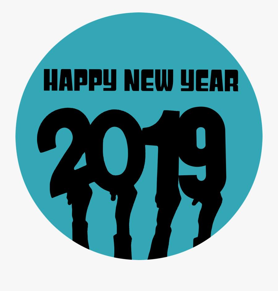 New Year Whatsapp Dp 2019, Transparent Clipart