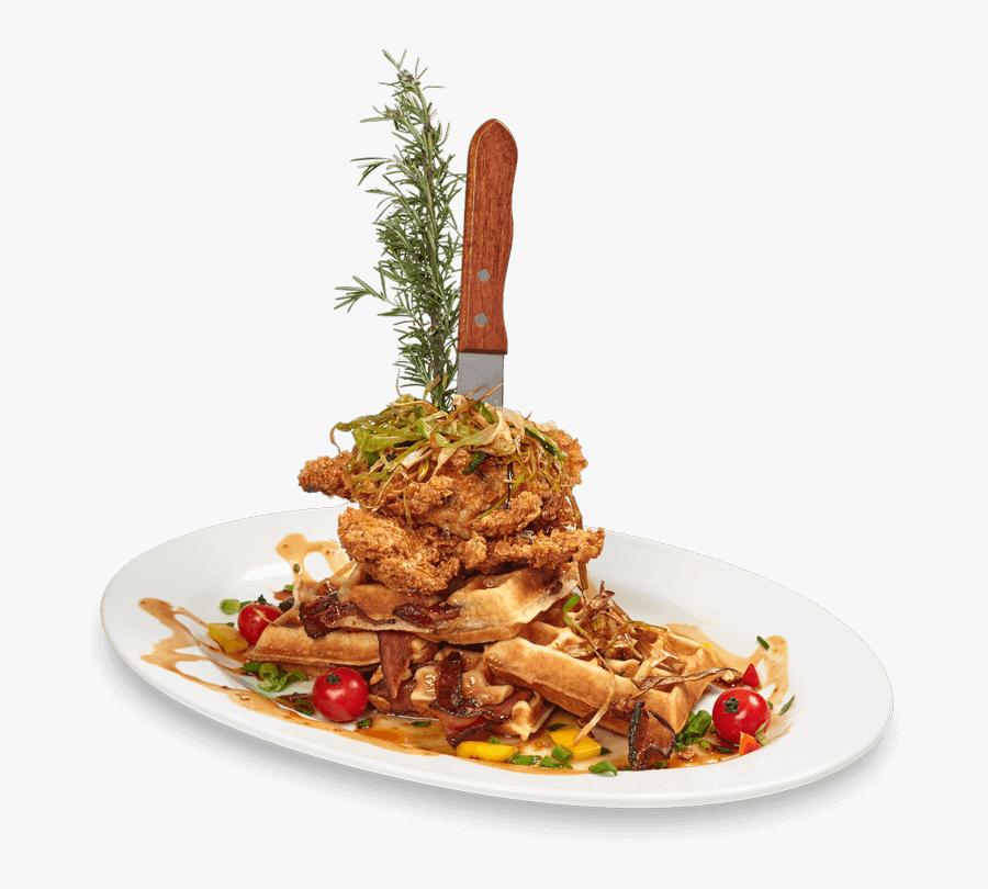 Transparent Pancake Clipart - Hash House A Go Go Sage Fried Chicken, Transparent Clipart