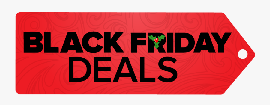 Black Friday Sales Red Ticket Png - Black Friday Deals Png, Transparent Clipart