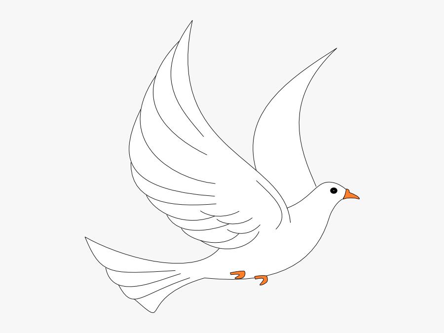 Transparent Background Holy Spirit White Dove, Transparent Clipart